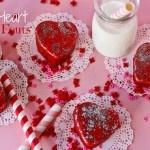 Red Velvet Heart Petit Fours