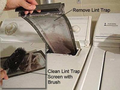 17 best ideas about dryer lint trap on pinterest clean washer vinegar deep clean house and - How to remove lint ...