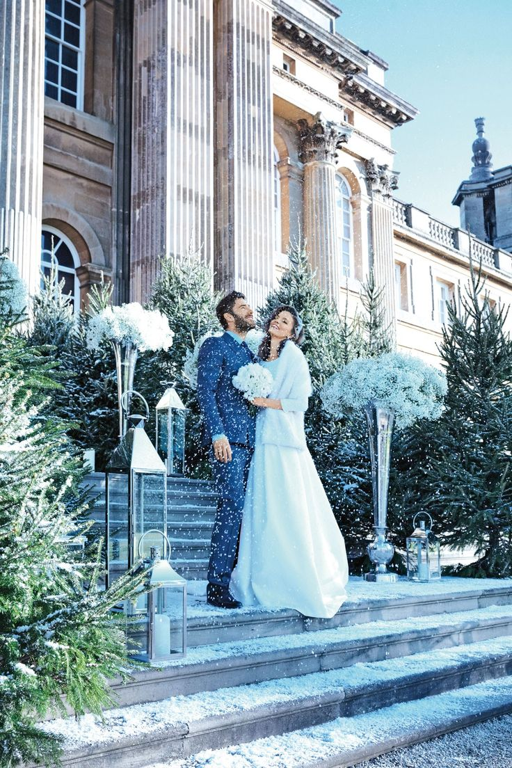 winter wonderland wedding south africa%0A Winter Themed Reception Ideas  BridesMagazine co uk