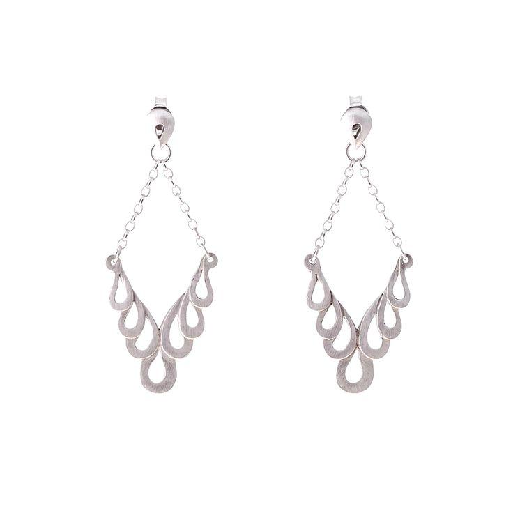 Hanging Movement Skeleton Earrings - Sterling Silver 4ZjKhkwmF