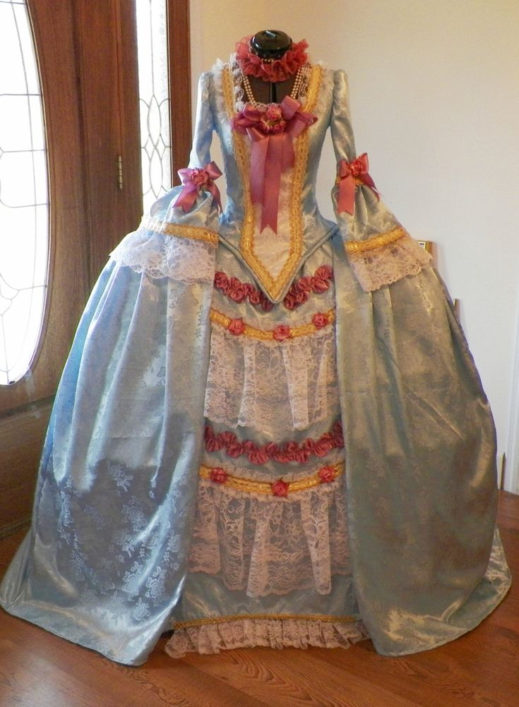 Marie Antoinette French Colonial Beethoven Waltz by Showbelles