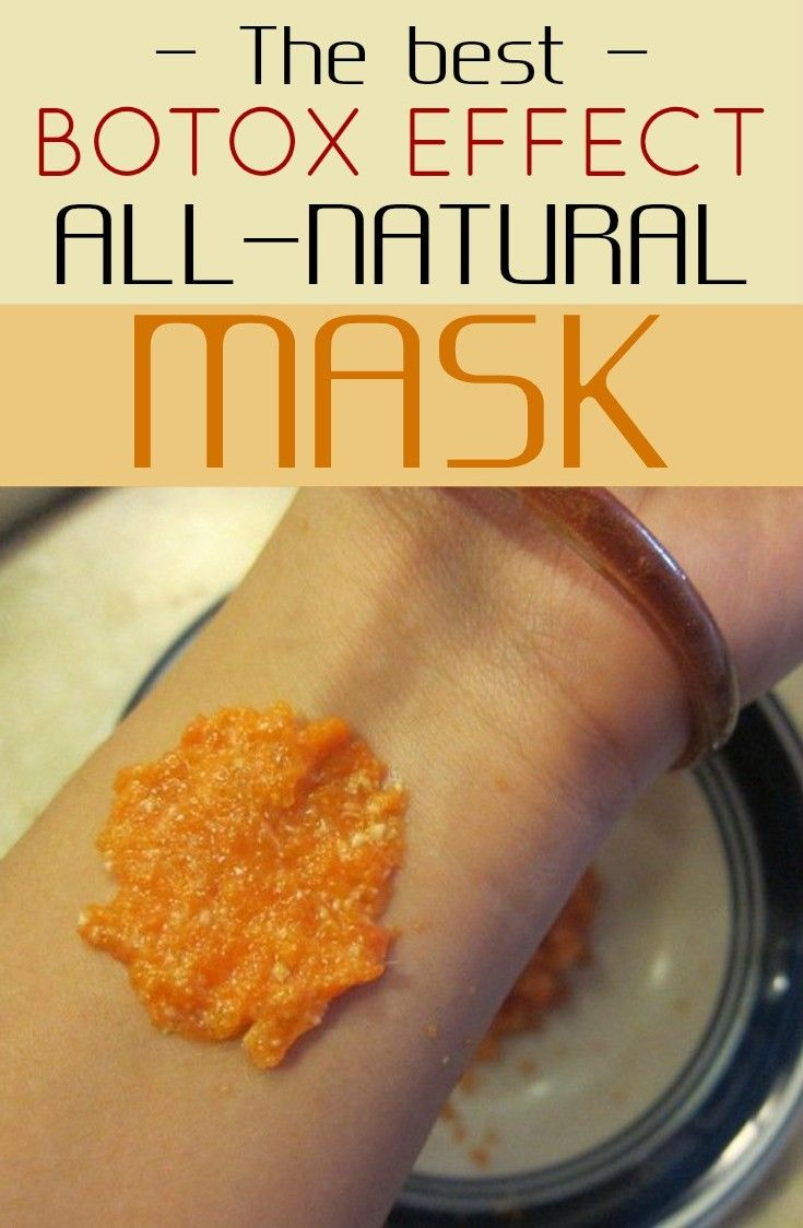 The Best Botox Effect All-Natural Mask - All Beauty Tips for women