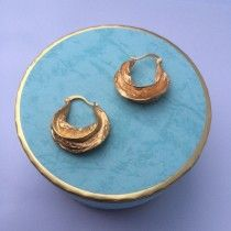 AFRICA EARRING GOLD - NYHED!