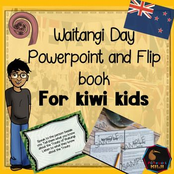 Waitangi Day Activity for senior primary classrooms - years 6,7,8.Are you looking for an activity that explains the Treaty of Waitangi in an accessible and engaging way for Primary Students? This is for youINCLUDES - A 20 page powerpoint presentation and a blank  template page for you to add your own content! - An interactive notebook for students to assemble and fill in based on the power point (full Teacher instructions included) COVERS- Why we have a holiday on 6th Feb-Why the Treaty was…