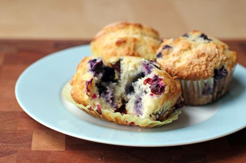 grammy mccarthy's blueberry muffins side web