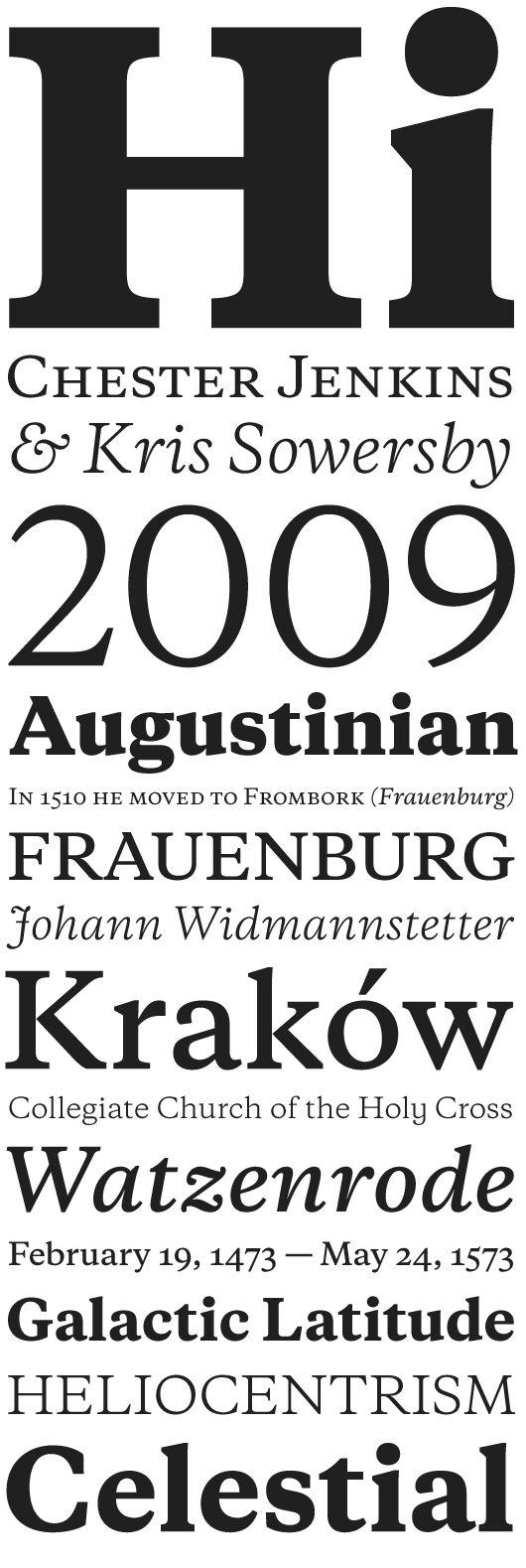 Copernicus Book Font - What Font Is