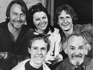 The Cast of Neil Simon's The Good Doctor.  Christopher Plummer, Marsha Mason, Rene Auberjonois, Florence Sternhagen and Bernard Hughes
