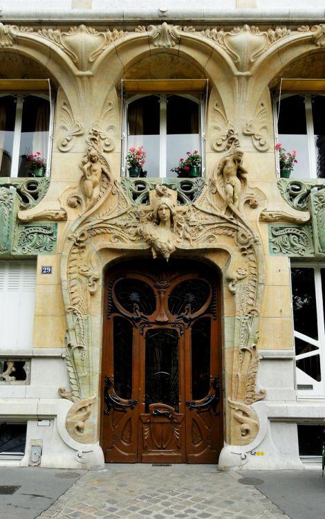 - Immeuble Art Nouveau - Lavirotte