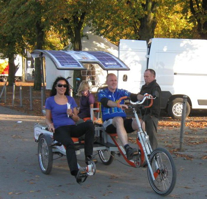 Harry S Keyony Family Cycle Side By Side Recumbent Parallel