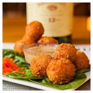 Reuben fritters- Kitty Hoynes Irish Pub and Restaurant - Syracuse, New York