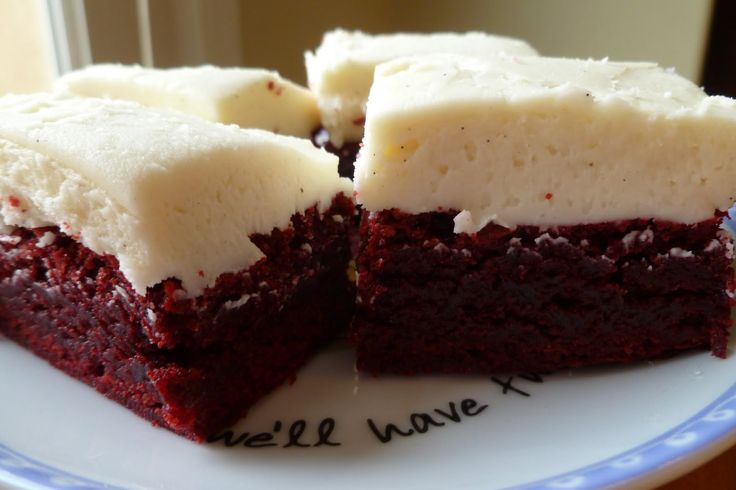 Red Velvet Brownies Recipe: These easy to bake brownies use Duncan Hines® red velvet cake mix. Seriously the best red velvet brownies recipe there is!