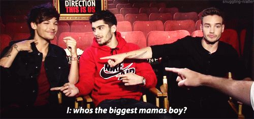 When he was the biggest mama's boy. | 43 Times Louis Tomlinson Was The Most Perfect And Beautiful Member Of One Direction