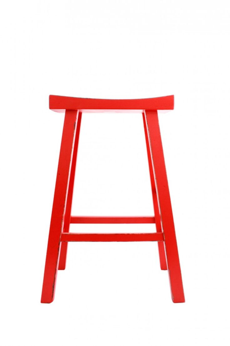 Red Barstool - Large