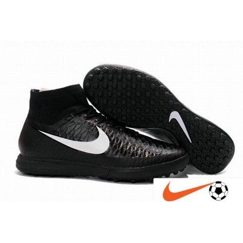 Classic Nike MagistaX Proximo Street TF Svart Vit Herr Fotbollsskor - Billiga Nike Magista Rea