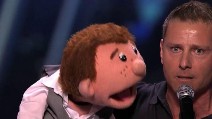 The winner of America's Got Talent 2015 Season 10 - Paul Zerdin ventrilo...