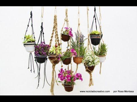 Jardín vertical miniatura con cápsulas de café recicladas - Vertical garden with recycled capsules - YouTube