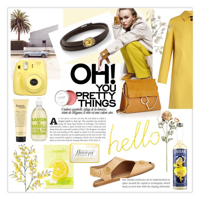 """Pretty little things"" by nomination on Polyvore featuring moda, Forever 21, Weekend Max Mara, Chloé, Block, STELLA McCARTNEY, Fujifilm, Birchrose + Co., Florapy e jewels"