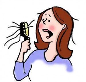 Hair loss and shampoos