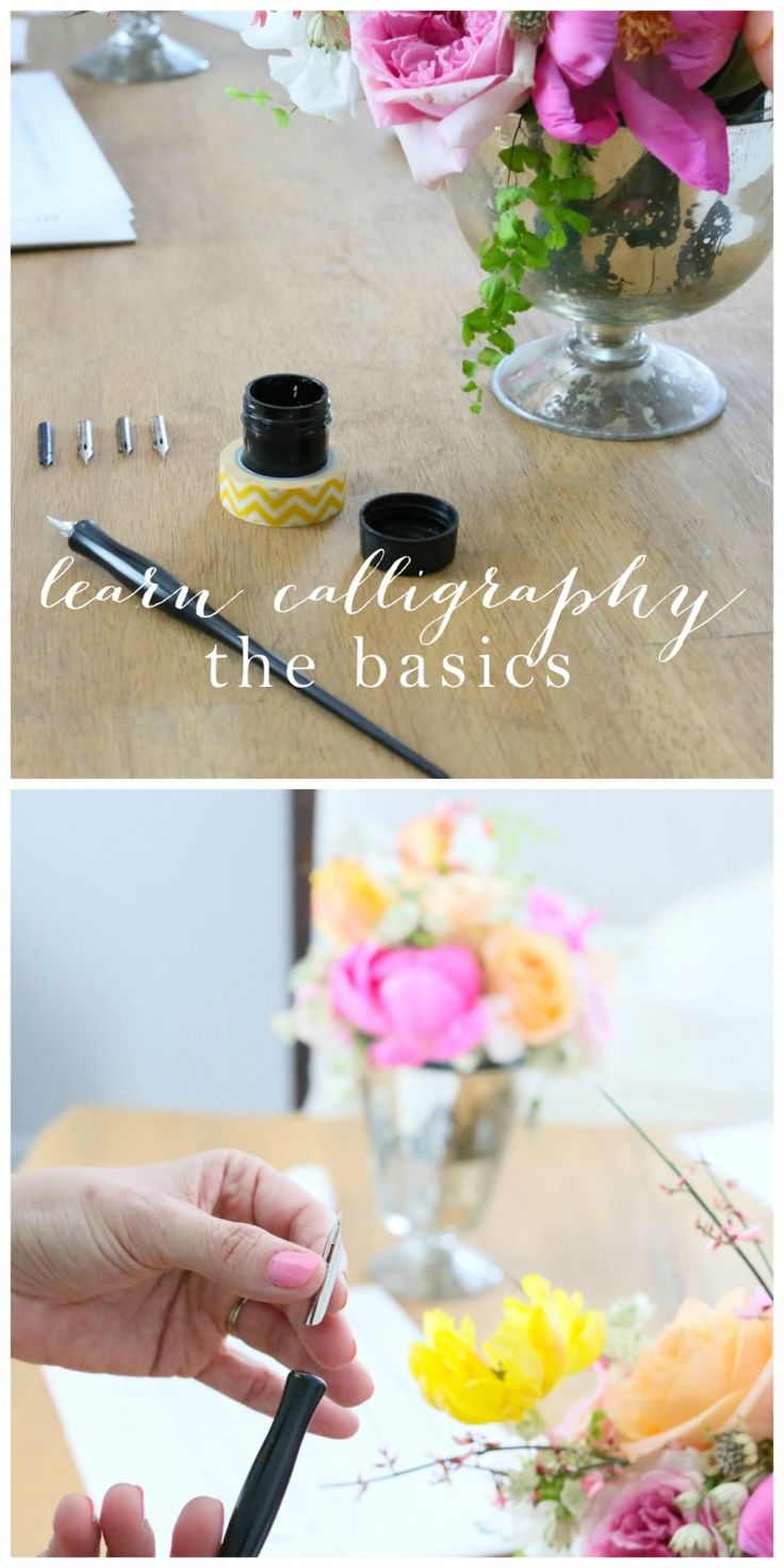 17 Best Ideas About Calligraphy Lessons On Pinterest How