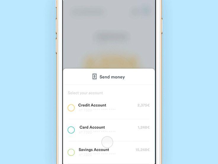 Banking App - Send Money Flow
