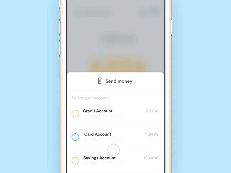 Banking App - Send Money Flow
