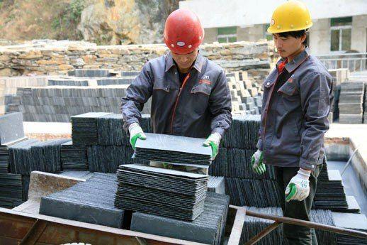 Производство сланцевой плитки в Китае