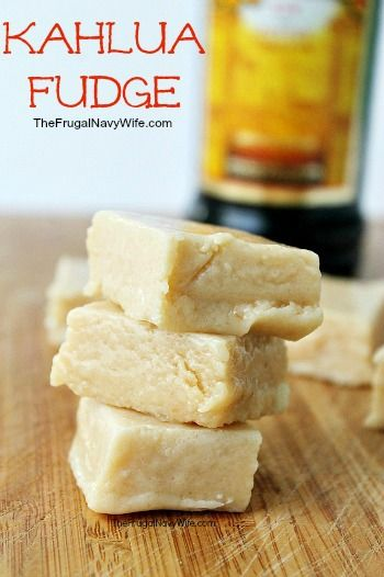12 Days of Christmas Candy | Kahlua Fudge Recipe. This great recipe made with everyone's favorite dessert drink! Perfect for potlucks!