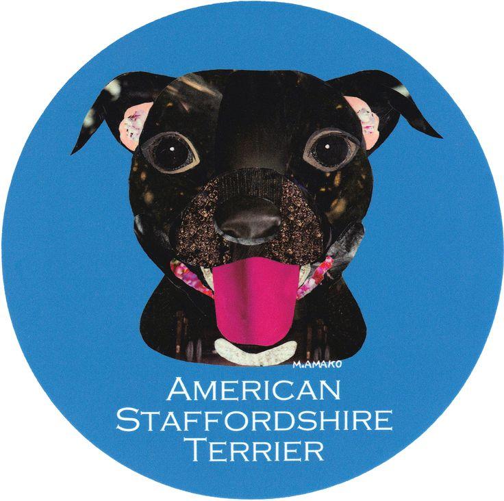 マイ @Behance プロジェクトを見る : 「005   American Staffordshire Terrier」 https://www.behance.net/gallery/42195511/005-American-Staffordshire-Terrier