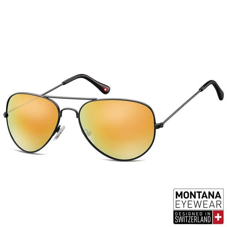 "Γυαλιά Ηλίου Aviator Montana ""Gunmetal"" MS96-YELLOW-e-chap"