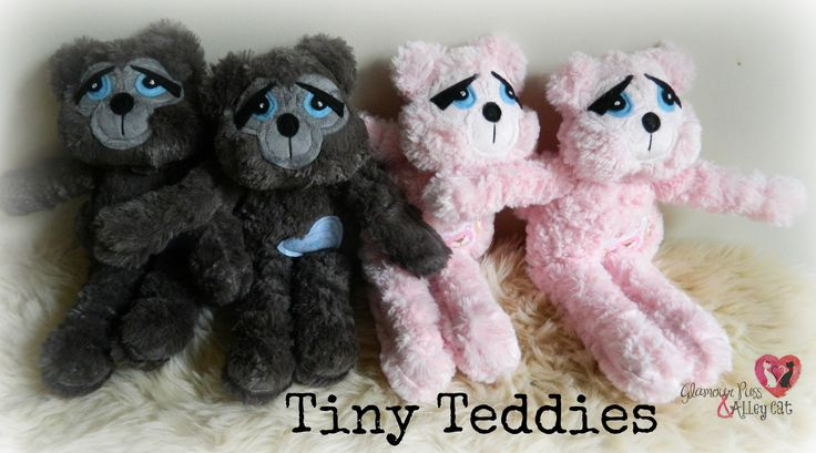 Tiny Teddies ~ Now available thru FB :)