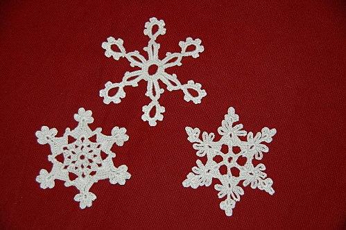Les trois etoiles au crochet d co de no l pinterest deco crochet and noel - Decoration au crochet ...