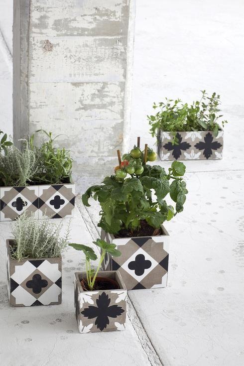 Pots à fleurs
