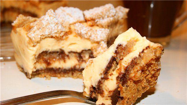 Орехово-лимонный торт БЕЗ МУКИ!