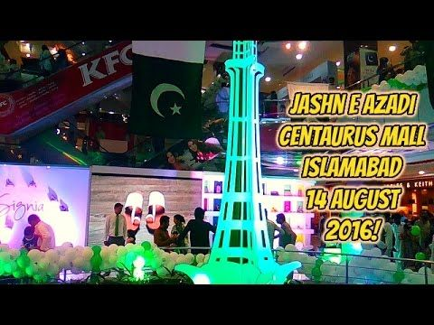 jashn e azadi Centaurus Mall Islamabad 14 August 2016! jashn e azadi Centaurus Mall Islamabad 14 August 2016! Pakistan had obtained its independence from the British Raj the 14th of August 1947. 23 March was originally supposed to commemorate the adoption of the first constitution of Pakistan and thus the declaration of Pakistan as a republic. However, Field Marshal Ayub Khan abrogated the constitution and declared martial law. Khan's regime, in order to justify celebrating the national day…