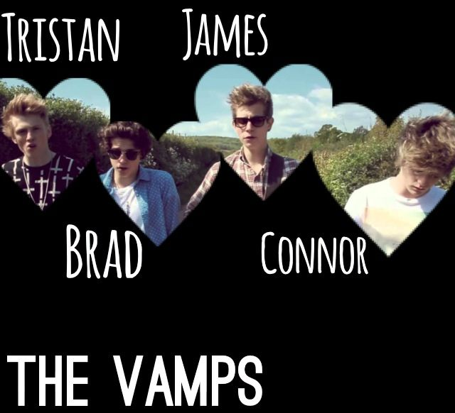 The Vamps Band Connor Brad Tristan James!