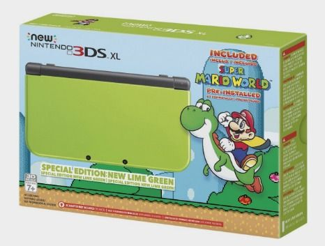 Nintendo New 3DS XL Special Edition: Lime Green (Amazon Exclusive): nintendo 3ds: Video Games http://amzn.to/2eP9M6G
