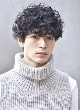 モダンヘアスタイル 天パおしゃれ髪型 : jp.pinterest.com