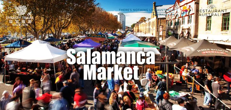 Set amongst the historic Georgian sandstone buildings of Salamanca Place in Hobart, this famous market attracts thousands of locals and visitors every Saturday of the year.  Salamanca Market is one of those special places where you actually meet the people who create, make or grow what they sell.  The diverse range of nearly 300 stallholders includes original, hand-made Tasmanian pieces from woodwork to jewellery, fashion to fanciful glassware and ceramics, not to mention fresh fruit and…