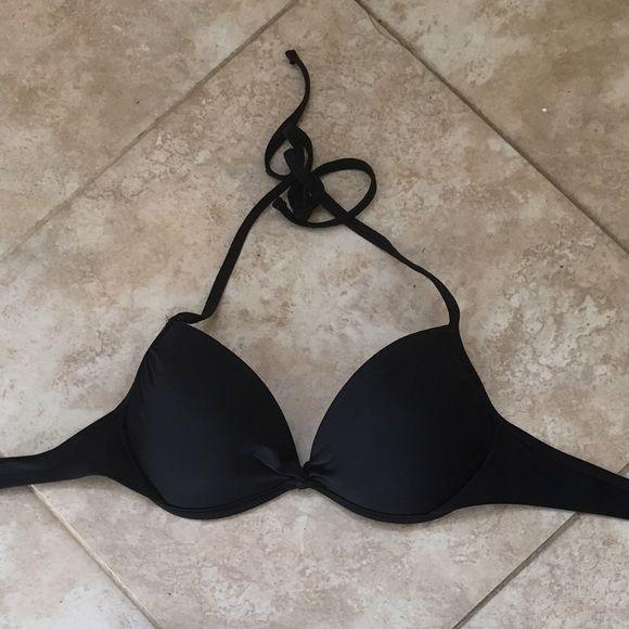 Black push-up bikini! Black bikini top from target! Xhilaration Swim Bikinis