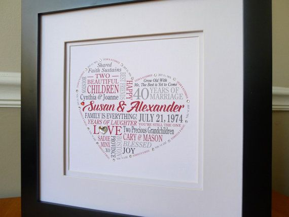 30th Wedding Anniversary Gift Ideas For Couples: 1000+ Ideas About Anniversary Gifts For Parents On
