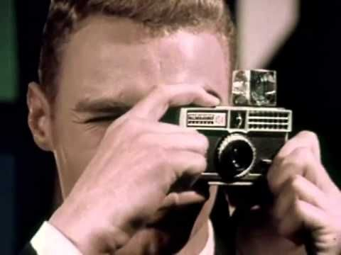 Flashcubes: Kodak Instamatic Camera Commercial circa 1965 Eastman Kodak ...