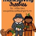 Please enjoy these Thanksgiving Freebies! This packet includes: * Story Elements Graphic Organizer * ABC Order Page * Comparing Pilgrims and Indians Double Bubble Map * How to Cook a Turkey Graphic Organizer, Story Planning Page, and Final Draft Page * I am Thankful Acrostic Poem Page