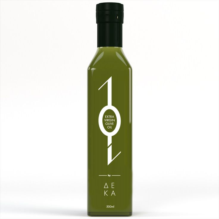 10 Extra Virgin Olive Oil​ / Series of products by DEKA. So the visualization is the number one, which in some packages like that of oil and olives symbolizes branch and the number zero is the visual coding of the product.
