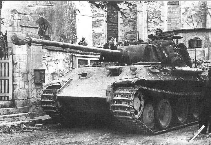 Panther of the Panzer Lehr Division