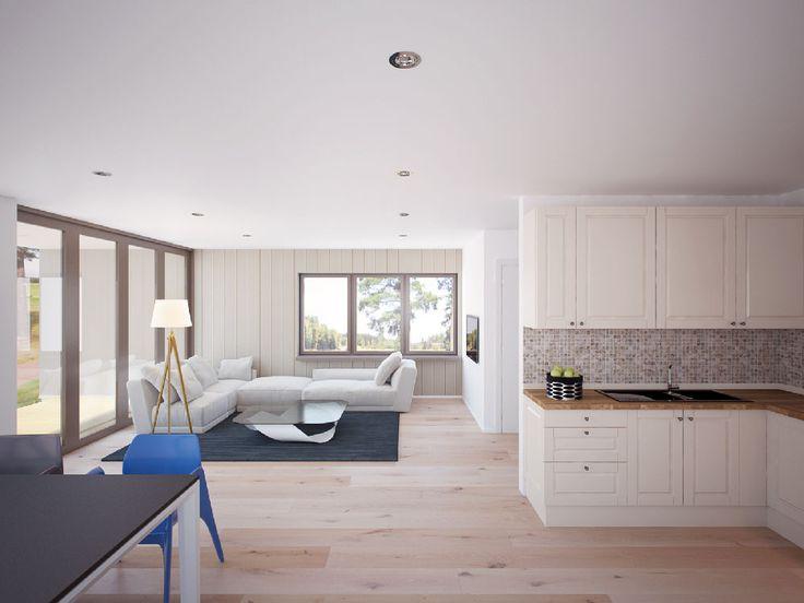 Simple & Minimalist Small House Interior