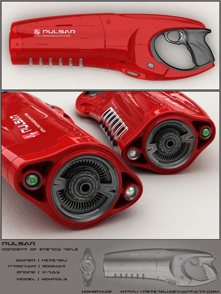 Arma de Pulsos energeticos