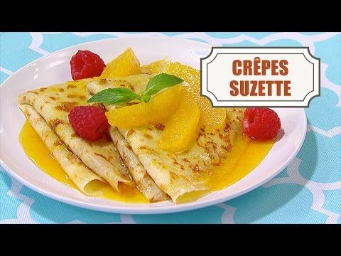 Crêpes Suzette - In the Kitchen with Stefano Faita