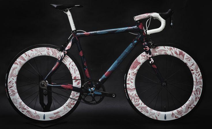 Tomski & Polanski Project | Festka - Custom frames  Probably the prettiest bike I've seen