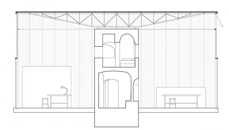 Mejores 144 im genes de sections en pinterest dibujos de - Alzado arquitectura ...