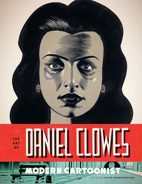 I bought this book a month ago during my visit to London this summer.. it was amazing  all about Daniel Clowes' work throughout his years of comic book writing & Drawing.. It blew my mind!